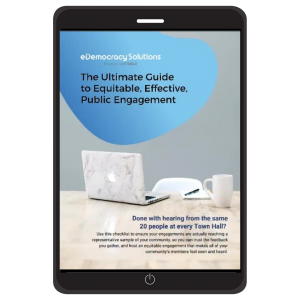The Ultimate Guide to Equitable, Effective, Community Engagement